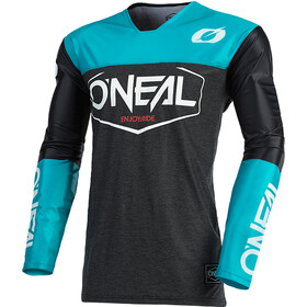 O'Neal Mayhem Maillot Crackle 91 Homme, hexx-black/teal